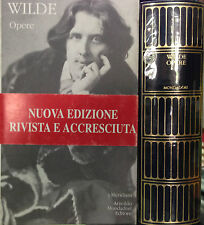 (Letteratura) WILDE  OPERE  Meridiani Originali 2000