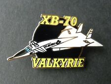 VALKYRIE XB-70 USAF AIR FORCE BOMBER AIRCRAFT LAPEL PIN BADGE 1.25 INCHES