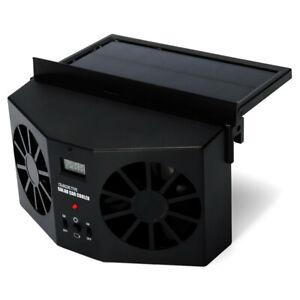 Voiture Silencieux climatiseur Solaire Ventilateur de refroidissement Portable