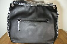 New With Tags Christian Lacroix Michele Hobo Bag - Black