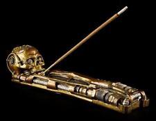 bâtons d'encens - Steampunk Tête de mort - Figurine gothique crâne