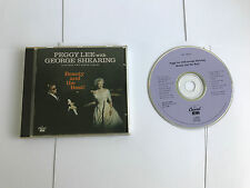 PEGGY LEE & GEORGE SHEARING - BEAUTY & THE BEAT - CAPITOL 1992 V NR MINT
