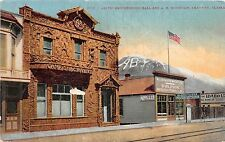 Alaska AK Postcard c1910 SKAGWAY Artic Brotherhood Ball and AB Mountain