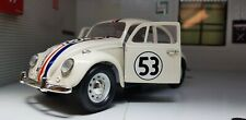 Herbie 53 Film Disney VW 1500 Beetle 1967 Car 1:24 Scale Diecast Detailed Model