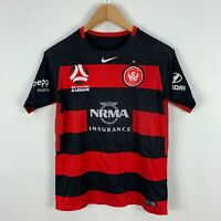 Nike Western Sydney Wanderers Soccer Football Jersey Youth Large Short Sleeve