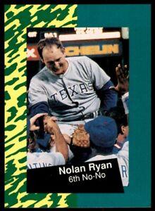 1991 Classic Nolan Ryan 10 #6 Nolan Ryan/6th No-No *209