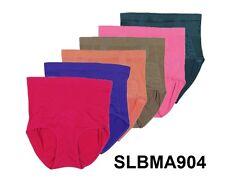 Lot of 6 Pairs Women Briefs Panties Seamless Mixed Color Plus Size  2XL 3XL 4XL