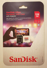 128GB MICRO SD CARD Sandisk Ultra Mini Memory Samsung Galaxy S8 S9 Edge.