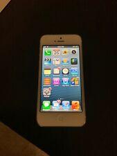 RARE iOS 6 Apple iPhone 5 - 16GB - White & Silver (Verizon) A1429 (CDMA + GSM)