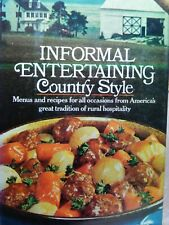 Farm Journal Informal Entertaining Country Style  1973 Hardcover with Jacket