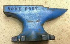 New ListingVintage Antique 22lb Rowe Blacksmiths Metalworking Anvil
