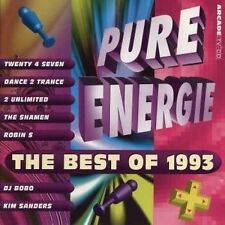 Pure energie-The Best of 1993 Twenty 4 Seven, Dance 2 trance, DJ Bobo, 2 Unlimit