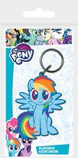 My Little Pony Rainbow Dash Portachiavi in gomma NUOVO 100% ufficiale Pyramid