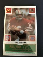 1986 McDonald's Football San Francisco 49ers Complete Sealed Set (Green Tab)