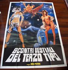 Scontri bestiali del terzo tipo - poster+locandina Film