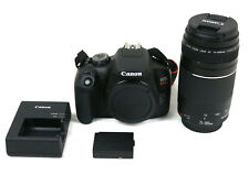 Canon EOS Rebel T7 DS126741 24.1MP Digital SLR Camera EF 75-300mm 1:4-5.6 III