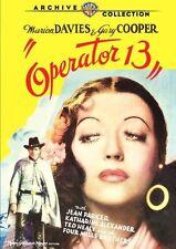 OPERATOR 13 (1934 Marion Davies, Gary Cooper)   Region Free DVD - Sealed