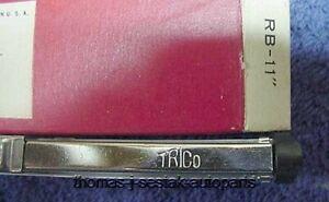 NOS Trico Shiny Wiper Blades GM Chevrolet & Corvette 49 - 53 54 55 - Black Tips!