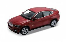 1:18 scale BMW X6 Red Diecast Model Welly