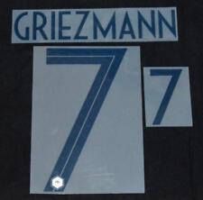 France Greizmann world cup 2018 Football Shirt Name/Number Set Away Player Size