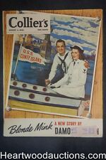 Collier's Aug 4, 1945 Portable phones; Faith Baldwin; Lucky Strike, Gaines