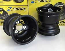 "GO KART RACING WHEELS / RIMS 5"" MAGNESIUM - 130mm 3/58 BOLT PATTERN - SET OF 2"