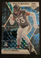 2020  Mosaic Football Pro Bowl Calais Campbell Genesis Jacksonville Jaguars SSP