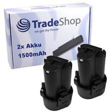 2x Akku 10,8V 1500mAh für Makita TD-090 TD-090-D TD-090-DWE