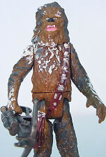 CHEWBACCA on Planet Hoth~ Mint~ Star Wars Power of The Force 1998~ Complete~POTF