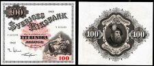 More details for sweden, sveriges riksbank, 100 kronor, 1962, v225295 (wpm 48d). nef.