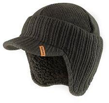 ca4f6fb4c7e Scruffs Peaked Beanie Hat Warm Winter Insulated Workwear Graphite Grey