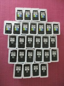 EMPTY CANON INK CARTRIDGES PG-540 / PG-540 XL / CL-541 / CL-541XL - 27 IN TOTAL.