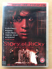 Story Of Ricky AKA Rikki Oh 1993 Prison Film HKL Hong Kong Legends | UK DVD