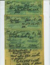 CENTRAL VERMONT RAILWAY TRAIN ORDERS  (12)  AMHERST, MASSACHUSETTS 1963-1966.