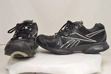 Reebok EasyTone Black Casual Tennis Comfort Fitness Walking Sneaker Size 6.5