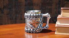 New Bone Grip Handcrafted 3D Stainless Steel Coffee Mug Beer Mug/Cup Tea Mug