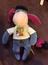 Disney Mini Bean Bag Beanie LONDON EEYORE 9 INCH Soft Toy