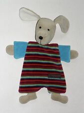 W. Kroke handgearbeitet Hund  Schmusetuch Schnuffeltuch Kuscheltuch  NEUWERTIG *