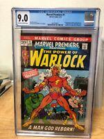 Marvel Premiere #1 (1972, Marvel) CGC 9.0 - 1st Adam Warlock & Soul Gem