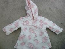 baby girls reversible floral coat age 3-6 months