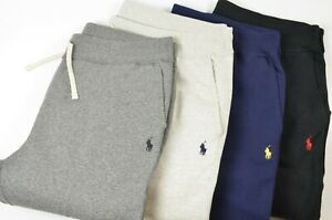 New Polo Ralph Lauren Men's Big & Tall Cotton-Blend Fleece Drawstring Sweatpants