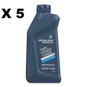 5 Liters Genuine BMW TWIN POWER TURBO 5W30 Motor Oil ORIGINAL For BMW ENGINE OIL