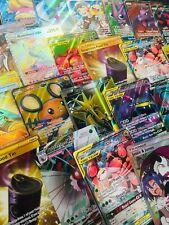 100 Card Pokemon Bundle Mystery Bundle - No Doubles - Full Arts - Gold Rares