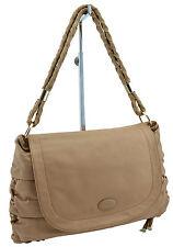 $925 TOD'S Light Brown Leather Tote Top Handle Shoulder Bag Handbag SOLD OUT!!!