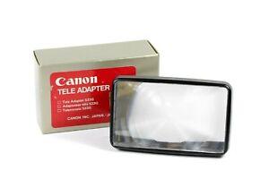 Canon Tele Adapter 533G Flash Diffuser w/Original Box