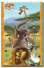 2008 DREAMWORKS MADAGASCAR ESCAPE 2 AFRICA  POSTER 22X34 NEW