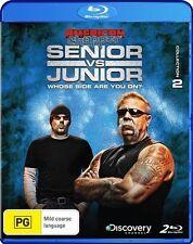 American Chopper - Senior Vs Junior : Collection 2 (Blu-ray, 2011, 2-Disc Set)