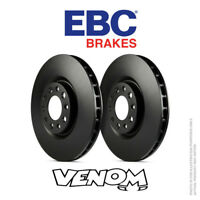 Vented Front 99 to 00 OM612.963 Pair MERCEDES ML270 W163 2.7D 2x Brake Discs