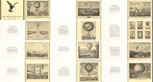 12 prints to mark the Centenary of the Royal Aeronautical Society 1966