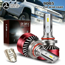 9005 HB3 LED Headlights Bulbs 60W 12000LM Kit High/Low Beam  6000K White AC/72